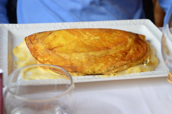 omeleta matky Poulard